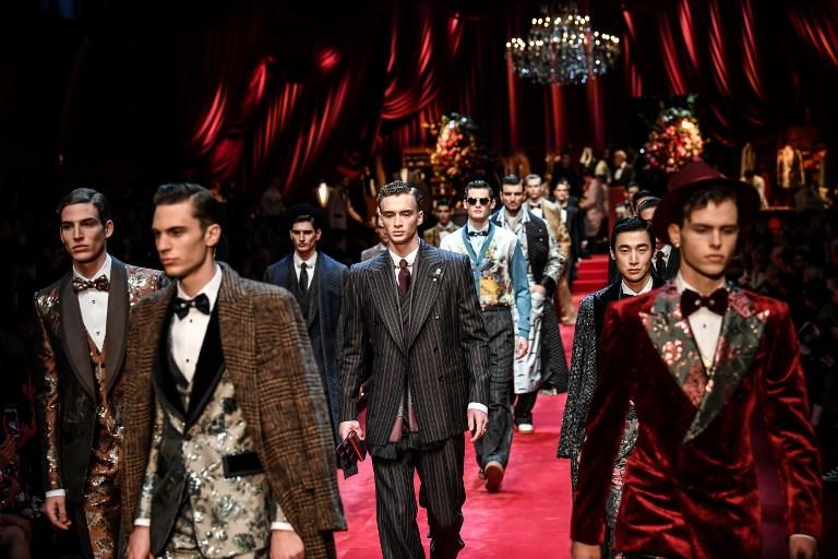 Tras polémica D&G brilla en Semana de la Moda Masculina de Milán 000_1C64BU