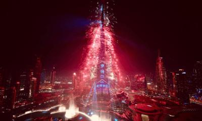 el mundo celebró el Año Nuevo