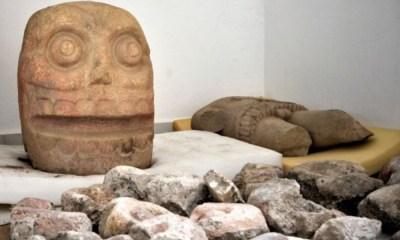 Hallan en Puebla templo prehispánico