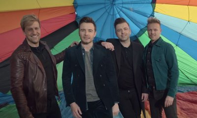 Westlife reapareció con 'Hello my love'
