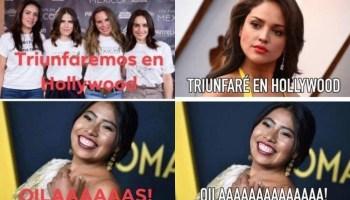 Yalitza Aparicio le molestó el meme