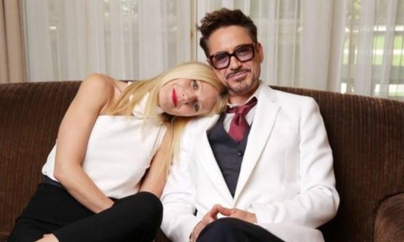 Gwyneth Paltrow se despidió de Robert Downey Jr.