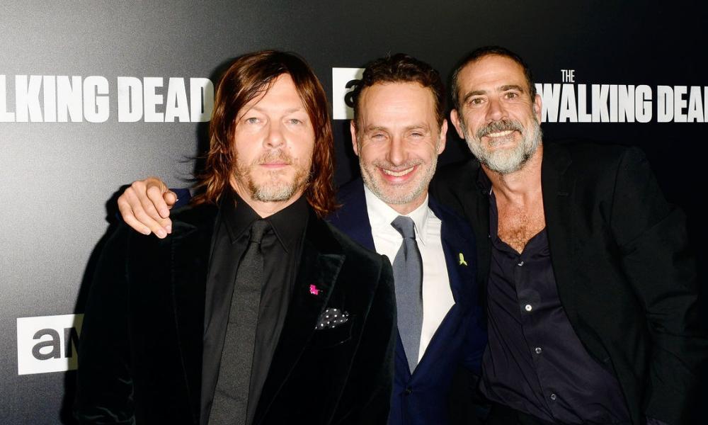 Protagonistas de 'The Walking Dead' se reencuentran