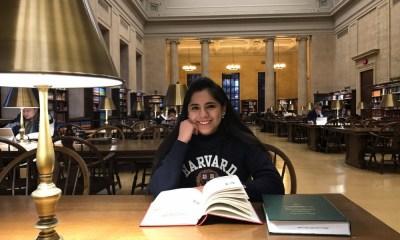 aceptan a mexicana de 17 años en Harvard