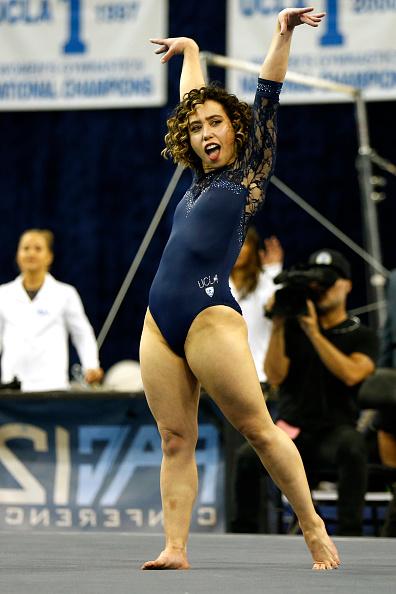 Lo volvió a hacer: La gimnasta Katelyn Ohashi obtuvo otro 10 perfecto gettyimages-1097648302-594x594