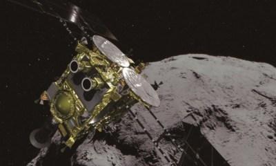 sonda espacial japonesa llegó a un asteroide