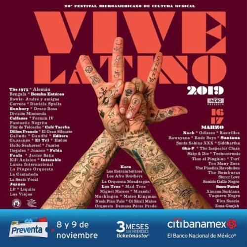 Ve armando tu itinerario porque ya están listos los horarios del Vive Latino vivelatino_43818271_256289791666251_3157800833798974307_n-500x500
