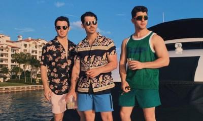 Jonas Brothers pasean por Miami