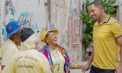 Will Smith bailó con 'abuelitas raperas', Will Simth en Cuba, abuelas raperas de Cuba