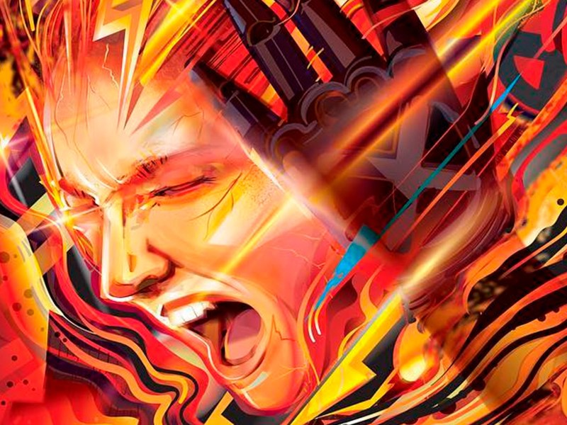 poster de 'X-Men: Dark Phoenix' ilustrado
