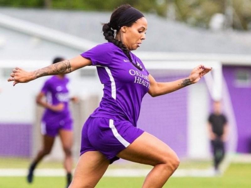 futbolista profesional entrenó embarazada