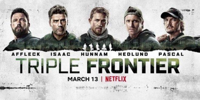 Netflix estrenó 'Triple Frontier', el filme de acción de Ben Affleck triple-frontier-trailer-poster-netflix-copertina-660x330