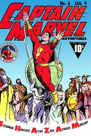 'El Acordeón': Los 5 datos de 'Shazam!' que te harán un héroe 277px-CaptMarvelAdventures6
