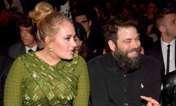 Adele y Simon Konecki se divorciaron