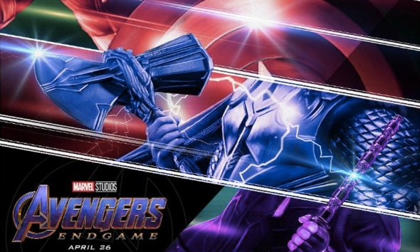 nuevo poster de 'Avengers: Endgame' fue ilustrado por Rich Davies