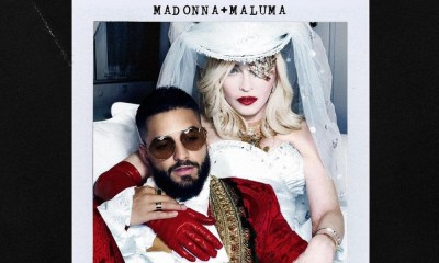 Madonna revela imágenes con Maluma