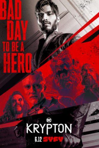 'Lobo' hace su aparición en el trailer de la segunda temporada de 'Krypton' Poster-Krypton-333x500