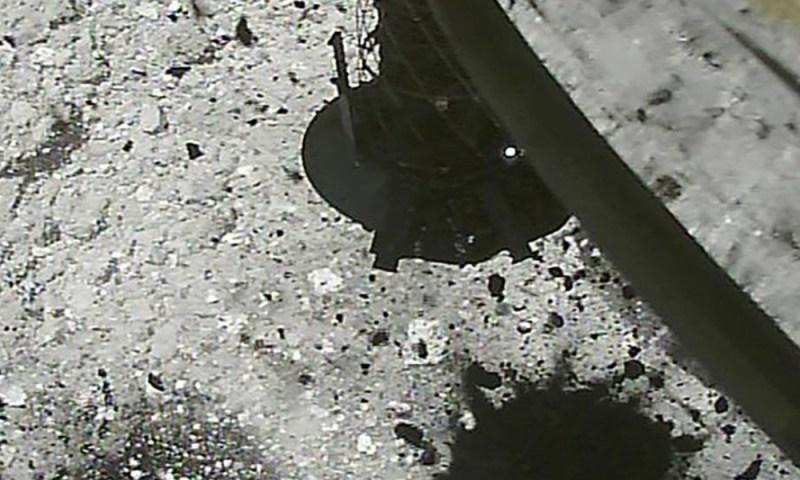 Sonda Hayabusa2 lanzó explosivo a asteroide para recolectar muestras Sonda-Hayabusa2-lanz%C3%B3-explosivo-a-asteroide-2