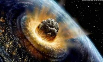 simulacro de impacto de asteroide con la Tierra