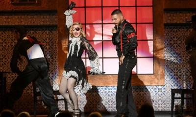 Madonna y Maluma se 'robaron' los Billboard
