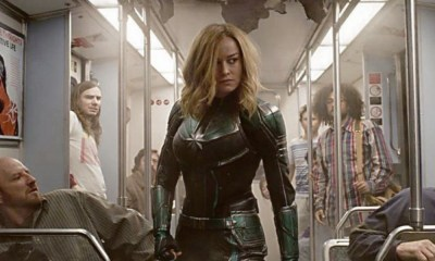 cameo de Stan Lee con Brie Larson