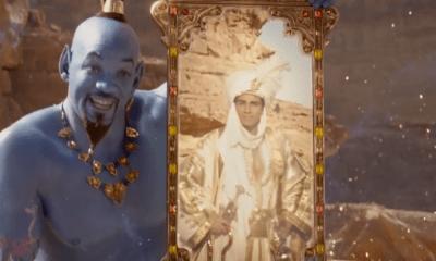 nuevo póster del live-action de 'Aladdin'