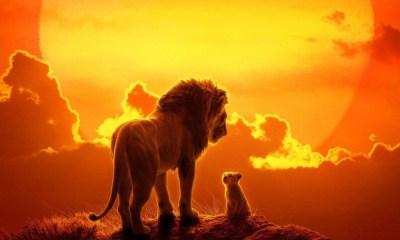 nuevo póster de 'The Lion King'