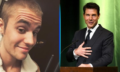 Justin Bieber retó a Tom Cruise