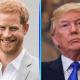 El príncipe Harry evitó a Donald Trump