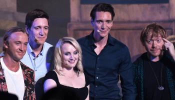 Actores de Harry Potter se reunieron