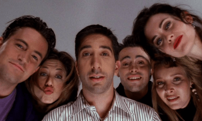 Selfie del elenco de 'Friends'