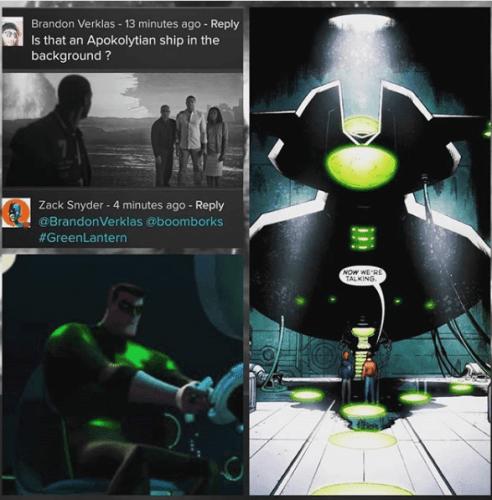Esta es la nave de 'Green Lantern' que no salió en 'Justice League' zack-snyder-justice-league-green-lantern-snyder-cut-2-492x500
