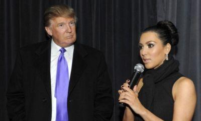 Kim Kardashian y Donald Trump se unieron