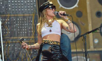 Miley Cyrus reveló sus preferencias sexuales