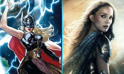 Natalie Portman como 'Thor'