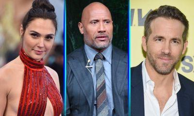Ryan Reynolds se une a Dwayne Johnson y Gal Gadot