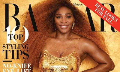 Serena Williams es portada de revista