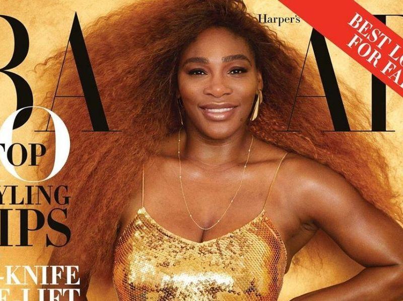 Serena Williams es portada de revista