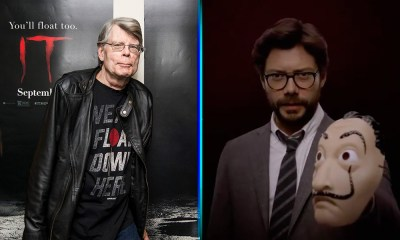 Stephen King quiere formar parte de 'La Casa de Papel'