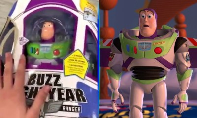 "Video de 'Buzz Lightyear' con ""vida"""