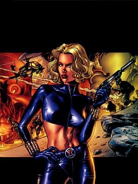 Así se verá 'Taskmaster', el villano en 'Black Widow' Yelenabelova