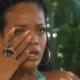Rihanna al borde de las lágrimas