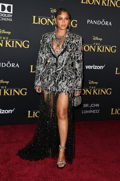 """""""Desde África"""" llega Beyoncé a la premiere de 'The Lion King' gettyimages-1161072036-594x594"""