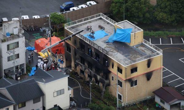 Incendio en  Kyoto Animation cobra decenas de víctimas en Japón incendio-en-Kyoto-Animation-600x360