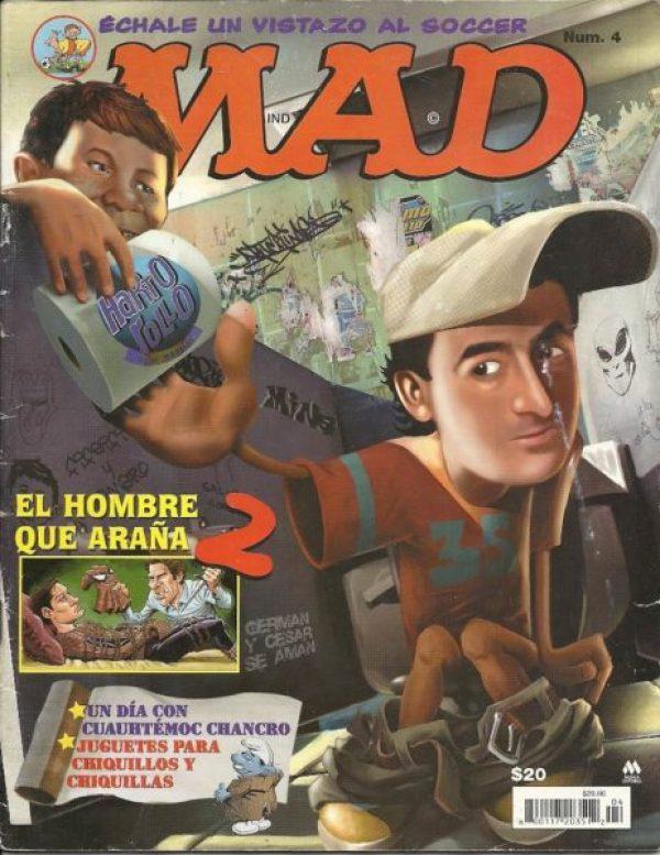 MAD Magazine dejará de publicar nuevo contenido tras 67 años revistas-mad-edicion-mina-D_NQ_NP_2864-MLM3671361970_012013-F