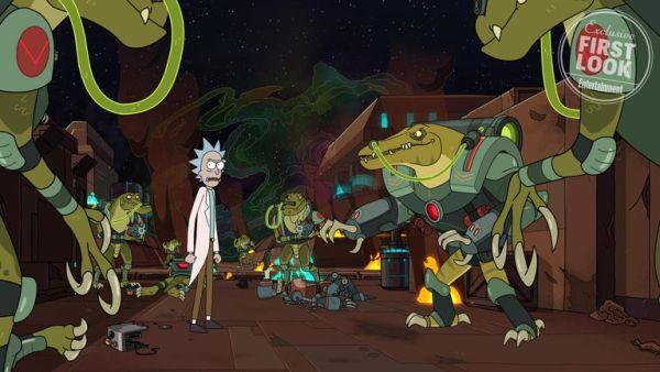 Un alien protagoniza el primer adelanto de la cuarta temporada de 'Rick and Morty' rick-y-morty-4-imagen-1563394058-600x338