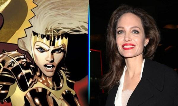 Filtran primeras imágenes de Angelina Jolie en 'Eternals' Angelina-Jolie-como-Thena-600x360