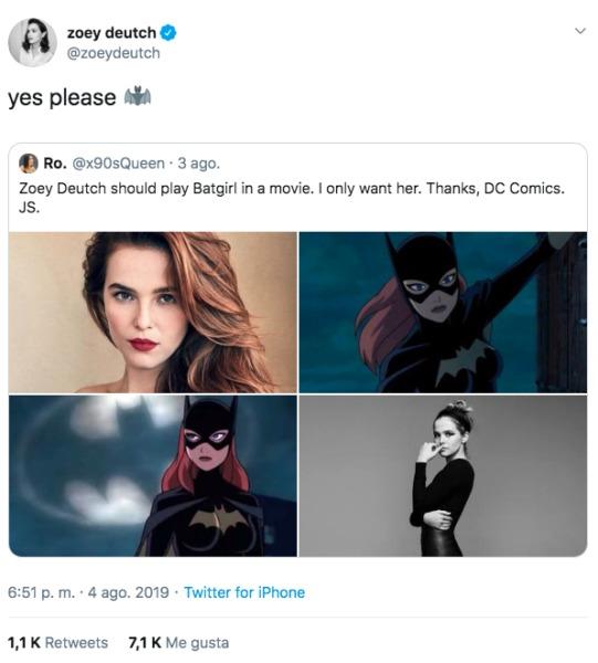 Protagonista de 'Zombieland' quiere ser 'Batgirl' en una película de DC Captura-de-pantalla-2019-08-06-a-las-09.08.12