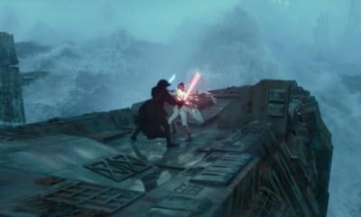 Dónde están peleando Rey y Kylo de 'Star Wars'