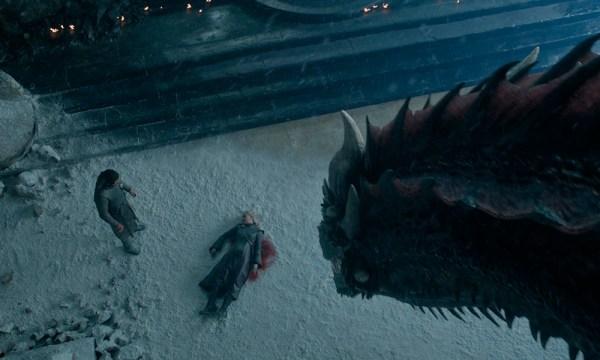 Guion de 'Game of Thrones' reveló por qué destruyen el 'Iron Throne' Drogon-600x360
